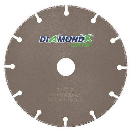 "MK DIAMOND PRODUCTS 170749-DX Cutter Blade,6"" x 0.050"" x 7/8"" G4414929"