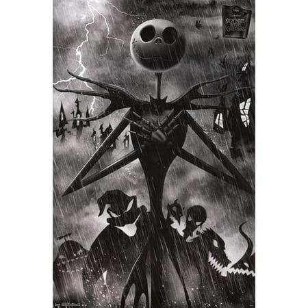 Nightmare Before Christmas - Shadows Poster - - Nightmare Before Christmas Poster