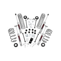 Rough Country Lift Kit compatible w/ 1997-2002 Jeep Wrangler TJ N3 Shocks Suspension System