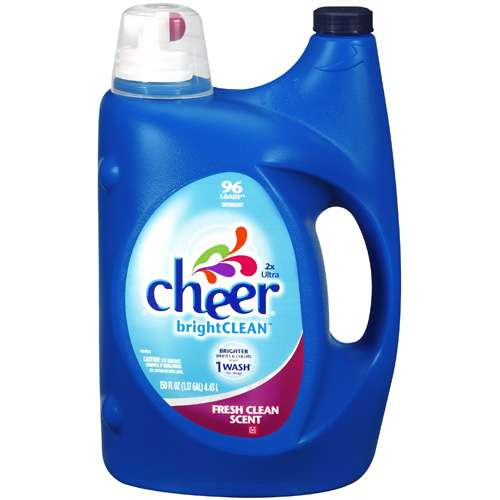 Cheer: Bright Clean Fresh Clean Scent 2X Ultra Detergent, 150 fl oz