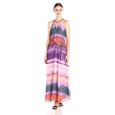 Jessica Simpson women's waver leigh maxi dress, degrade, ...