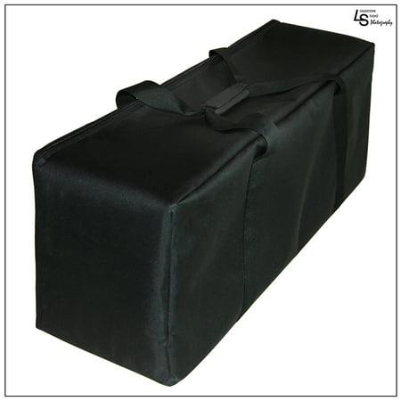 Loadstone Studio Photography Heavy Duty Convenient Carry Case For Studio Softbox Umbrella Flash Strobe Lighting Kit, WMLS1483