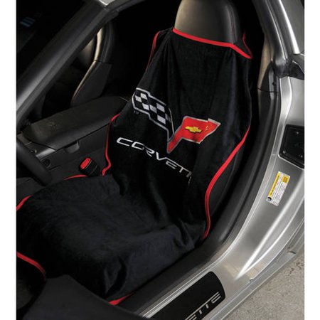 SeatArmour Corvette C6 Black Seat Armour ()