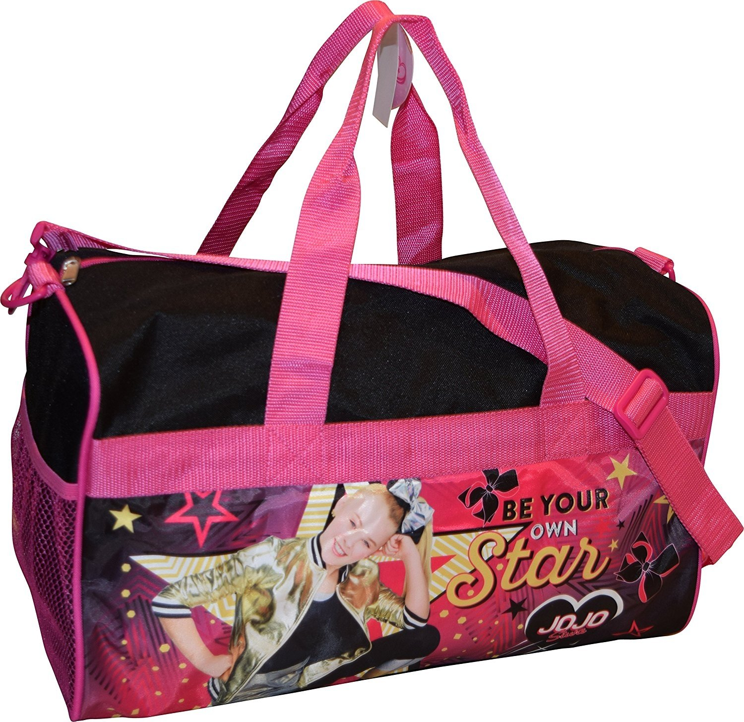 "Nickelodeon Jojo Siwa Girl's 18"" Carry-On Duffel Bag"