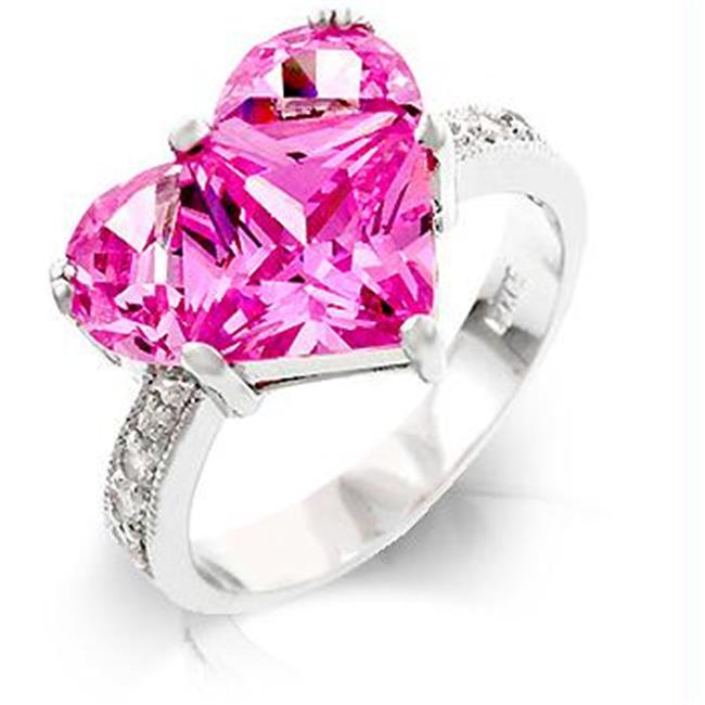 Sweetheart Engagement Ring, <b>Size :</b> 08