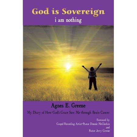 God Is Sovereign  I Am Nothing  My Diary Of How Gods Grace Saw Me Through Brain Cancer