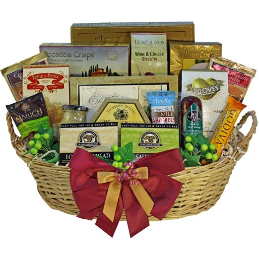 Grand Edition Gourmet Food and Snacks Gift Basket, LARGE ...