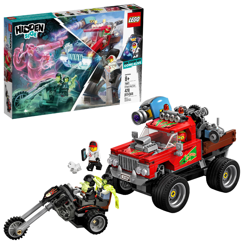 LEGO Hidden Side Augmented Reality (AR) El Fuego's Stunt Truck Model Set 70421 (428 Pieces)