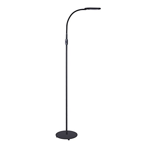 AUKEY Task Floor Lamp, LED Standing Lamp for Living Room and Bedrooms, Tall Reading Lamp with Brightness Adjustment Knob... by LIVEDITOR LIGHTING