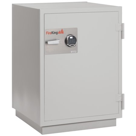 Fireking Fireproof Dm3420 3 Office Industrial Platinum Finish Ul Class 125 Three Hour Data Fire Proof Safe 6 0 Cu Ft Capacity With Electronic Keylock