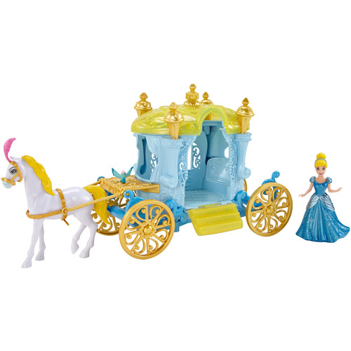 Disney Princess Little Kingdom Cinderella Carriage by Mattel