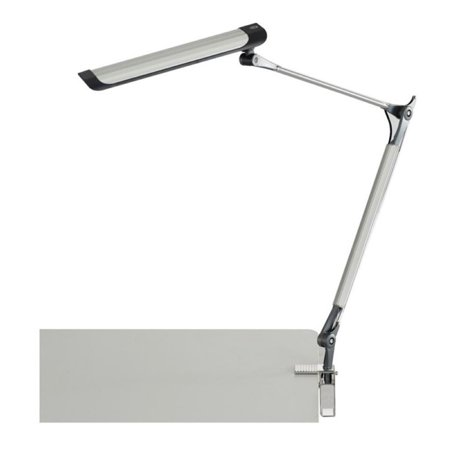 Safco Arm Clamp Led Desk Lamp In Silver Walmart Canada