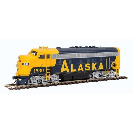 Emd F7a Unit - Walthers HO Scale EMD F7A Locomotive (Standard DC) Alaska Railroad/ARR #1530