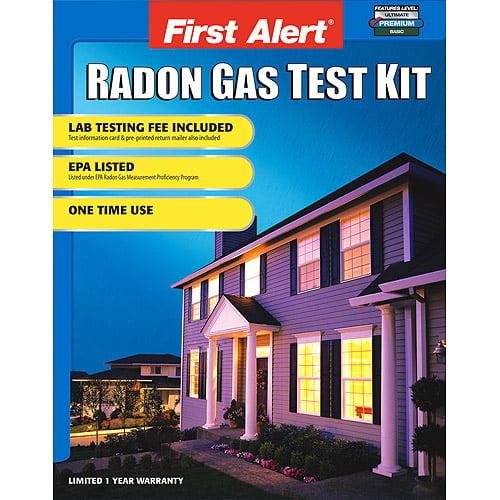 First Alert SC07 Home Radon Test Kit, RD1