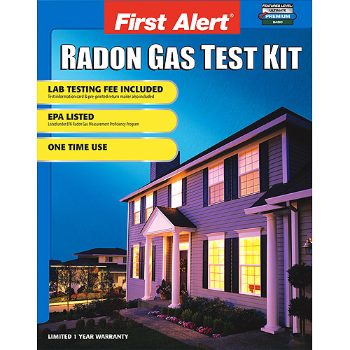 First Alert SC07 Home Radon Test Kit, RD1
