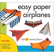 Sterling Publishing-Easy Paper Airplanes Kit