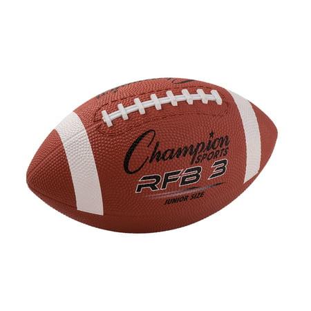 Champion Sports Junior Size Rubber Football