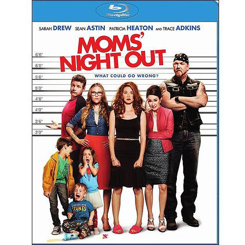 Moms' Night Out (Blu-ray + Digital HD) (With INSTAWATCH) (Widescreen)