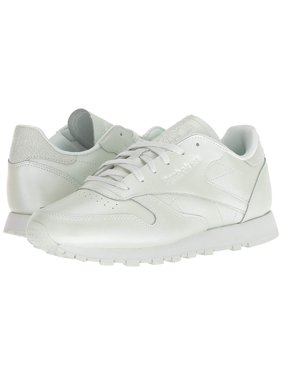 6fffe55732bfa Product Image Reebok Womens Classic Leather Low Top Lace Up Running Sneaker