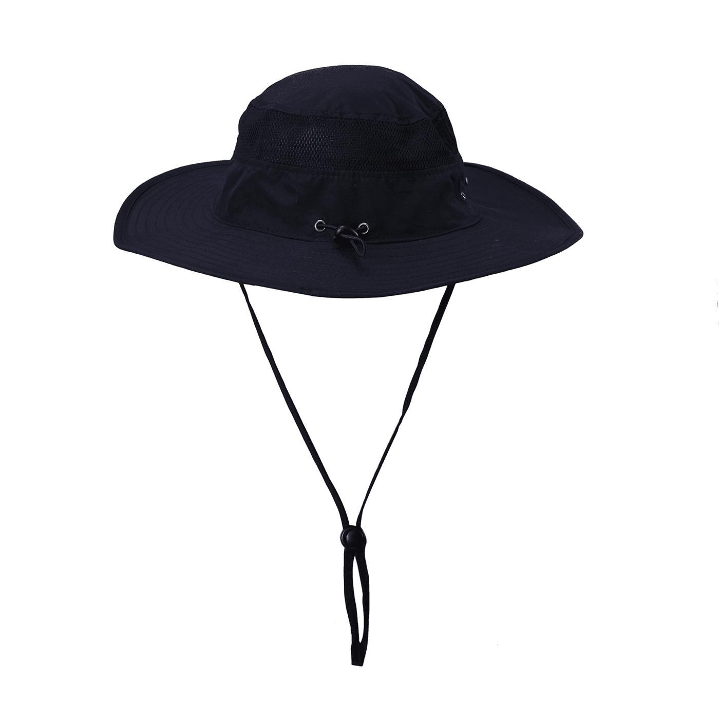 HDE Mens Mesh Bucket Hat Outdoor UV Sun Protection Wide Brim Booney...