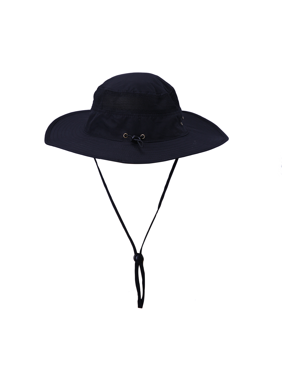 82881018 Product Image HDE Mens Mesh Bucket Hat Outdoor UV Sun Protection Wide Brim  Booney Fishing Cap