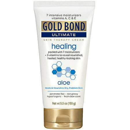 Gold Bond Ultimate Healing Skin Therapy Cream, Aloe 5.50 oz (Pack of