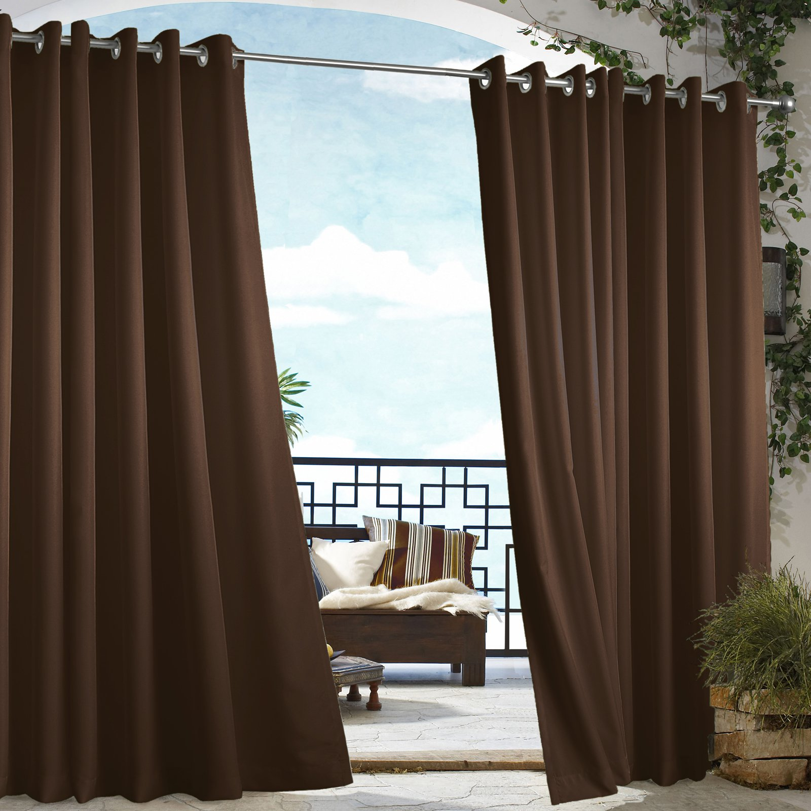 cloth and diy canvas to curtains paint crafts chevron a make decorate sew drop no outdoor how tos from