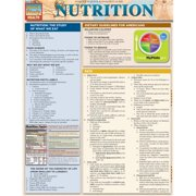 BarCharts 9781423218425 Nutrition Quickstudy Easel