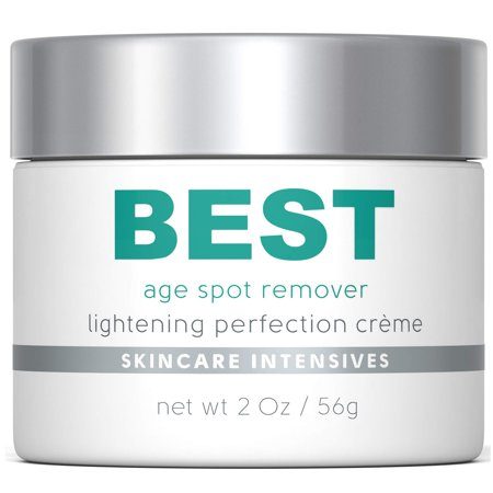 Best Age Spot Remover - Dark Spot Corrector - Excellent Brown Spot, Rosacea and Scar Cream - Strongest Non Prescription Treatment Available - 2 Oz
