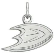 Anaheim Ducks Women's Sterling Silver XS Pendant