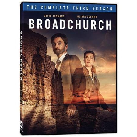 Broadchurch: The Complete Third Season (DVD) (Broadchurch Season 1 & 2)