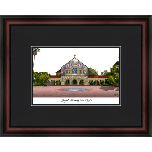 Stanford University Academic Framed Lithograph