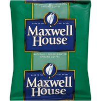 Maxwell House Shy Roast Decaf Ground Coffee (1.7 oz Bags, Pack of 96)