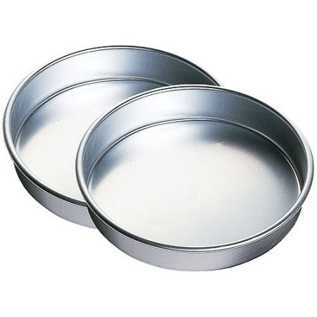 Wilton Performance Pans Aluminum Round Cake Pan Set, 2-Count, 9 in.