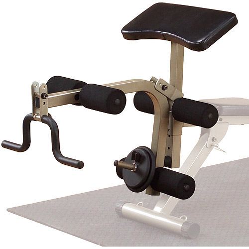 Best Fitness Leg and Preacher Attachment for FID 10 Bench