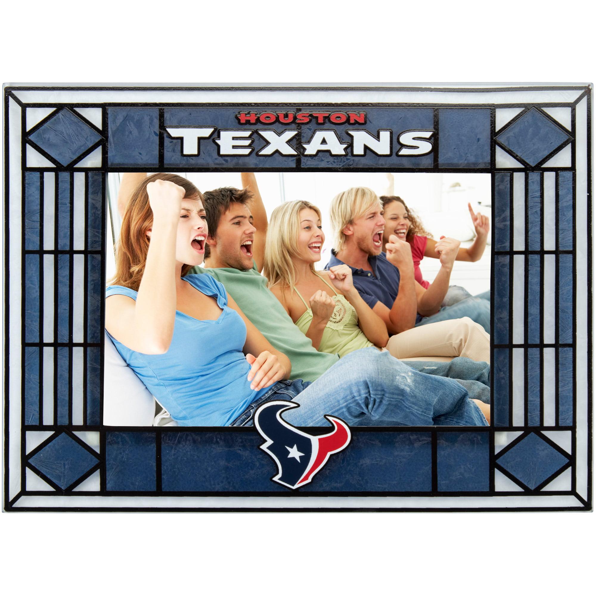 Houston Texans Art-Glass Horizontal Picture Frame - No Size