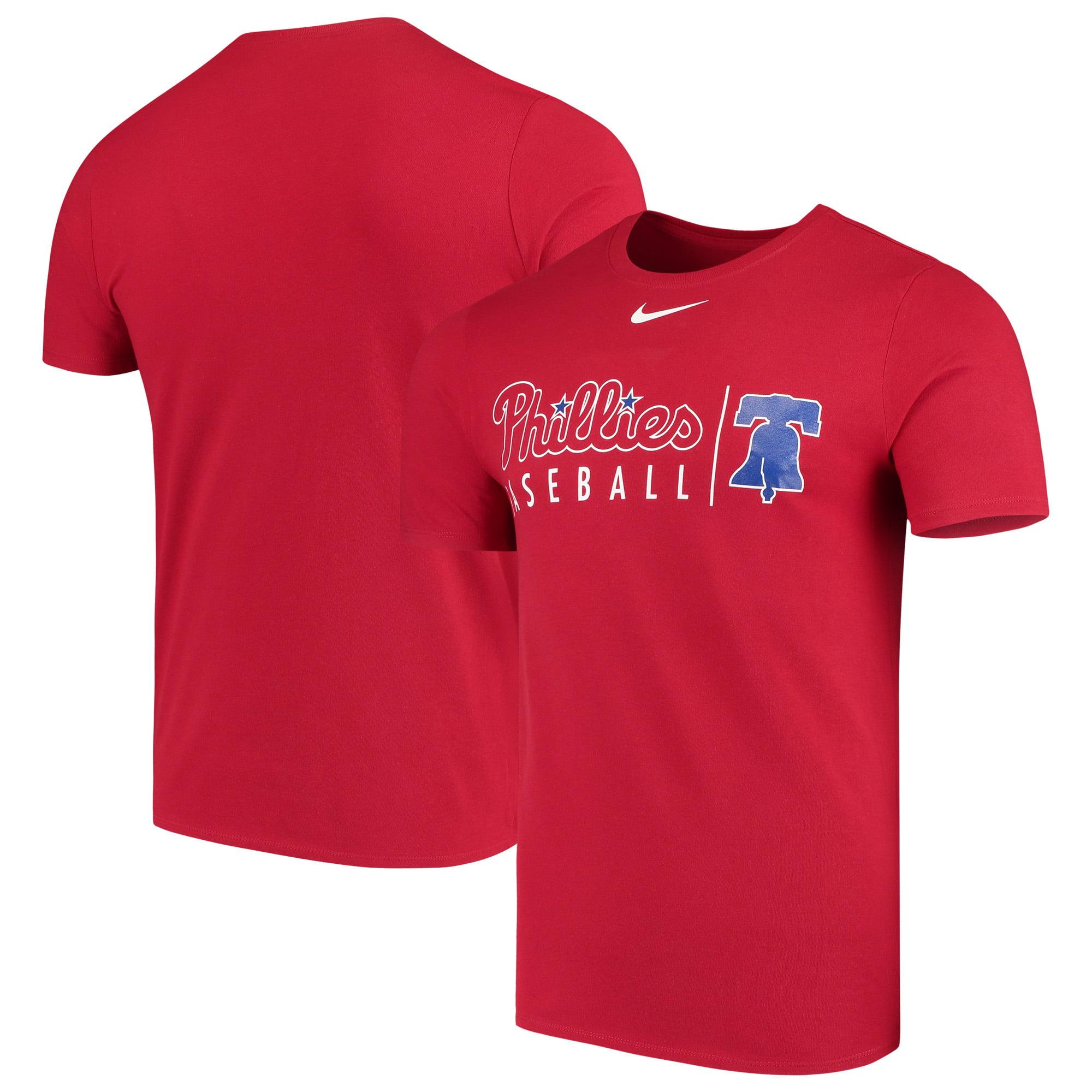 Philadelphia Phillies Nike MLB Practice T-Shirt - Red