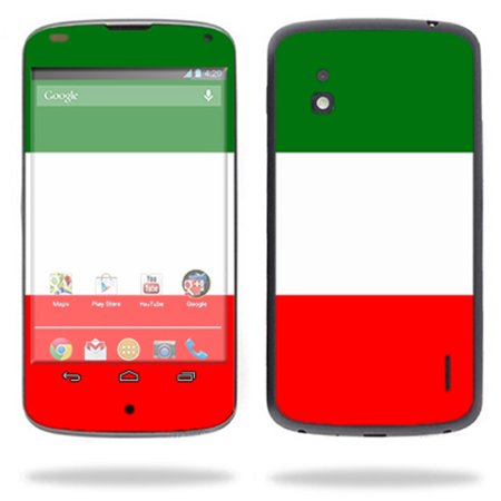 Mightyskins Protective Skin Decal Cover for LG Google Nexus 4 E960 Cell Phone wrap sticker skins Italian