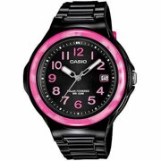 Women's LX-S700H-4BVCF Solar Black Watch