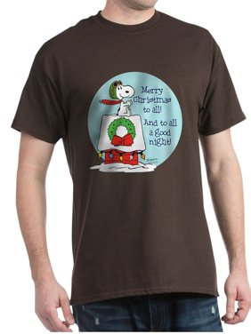 8ae8a5f193c Product Image CafePress - Snoopy  Merry Christmas To All - 100% Cotton  T-Shirt