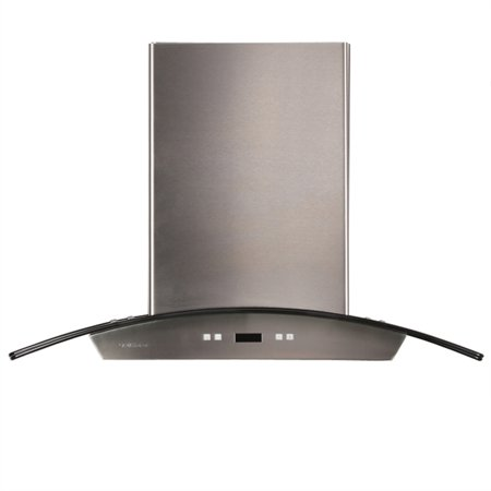 "CAVALIERE 30"" Island Mounted Stainless Steel / Glass Kitchen Range Hood 900 CFM SV218D-I30"