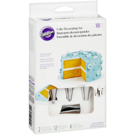 Wedding Cake Decorating Supplies (Wilton Cake & Dessert Decorating Set,)