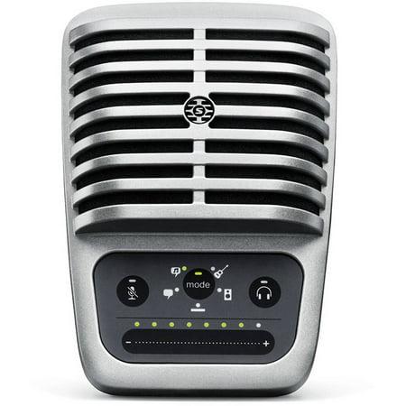 Shure Motiv MV51 Digital Large Diaphragm Condenser Microphone w/ USB & Lightning Cable