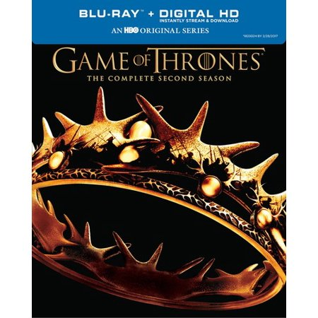 Game Of Thrones  The Complete Second Season  Blu Ray   Digital Copy