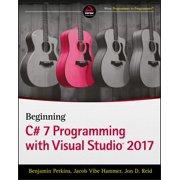 Beginning C# 7 Programming with Visual Studio 2017 - eBook