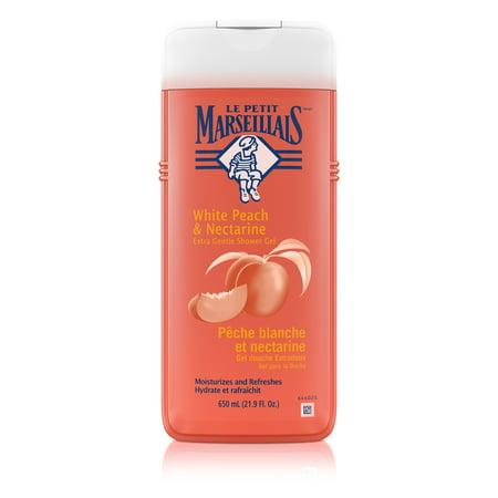 Le Petit Marseillais Gentle Shower Gel, Peach & Nectarine, 21.9 fl. oz