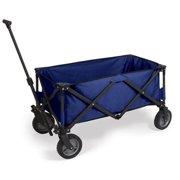 Picnic Time 739-00-679-000-0 Adventure Folding Utility Wagon - Dark Grey <BR>