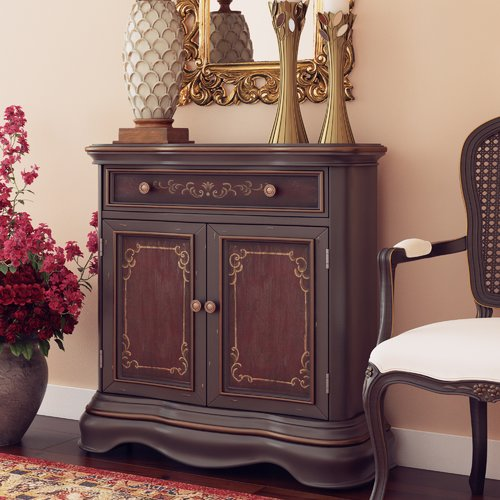 Astoria Grand Skenfrith 1 Drawer 2 Door Accent Cabinet