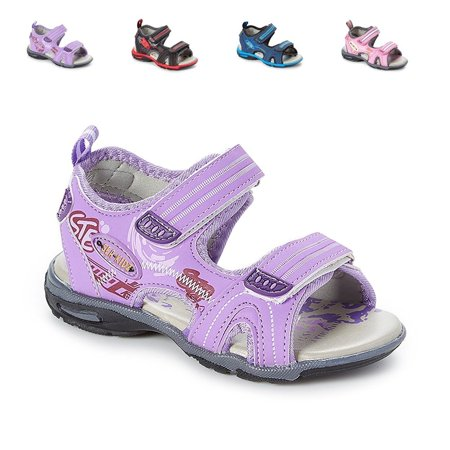 Kids Children Waterproof Hiking Sport Open Toe Athletic Sandals (Toddler/Little Kid/Big (Best Waterproof Hiking Sandals)