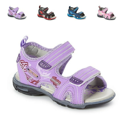 Kids Children Waterproof Hiking Sport Open Toe Athletic Sandals (Toddler/Little Kid/Big Kid) ()